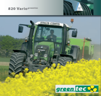 Fendt 820 Vario greentec